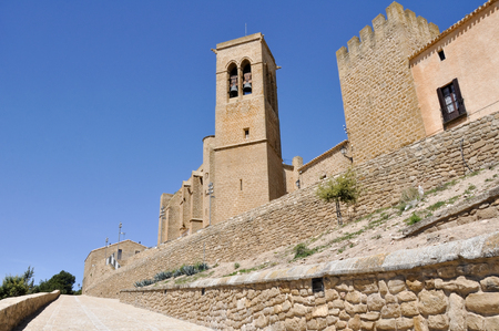 Walled town of Artajona, Navarre, Spain Stock Photo - 22415137