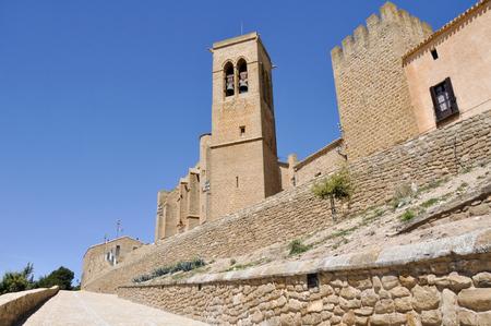 Walled town of Artajona, Navarre, Spain Stock Photo - 22415137