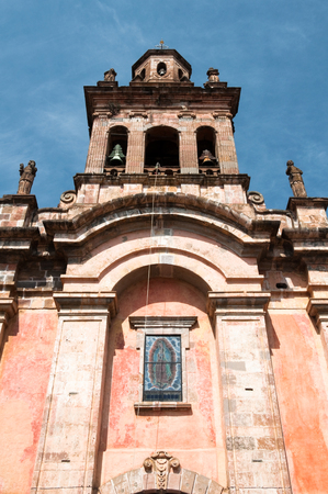 Church of Guadalupe, Patzcuaro, Mexico Stock fotó