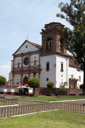our:  Basilica of Our Lady of Health, Patzcuaro, Mexico Stock Photo