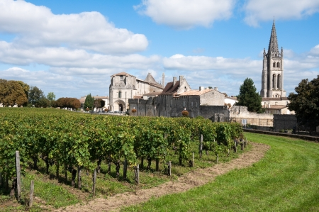 historical sites: Saint-Emilion, France Stock Photo