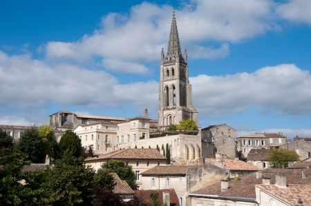 Saint-Emilion, a UNESCO World Heritage Site, France photo