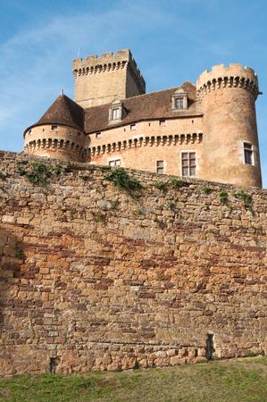 Castle of Castelnau-Bretenoux, Prudhomat, France