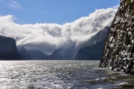 milford: Milford sound, Fiordland National Park, New Zealand