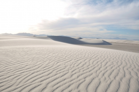 white sands national monument: White Sands National Monument, New Mexico, USA Stock Photo