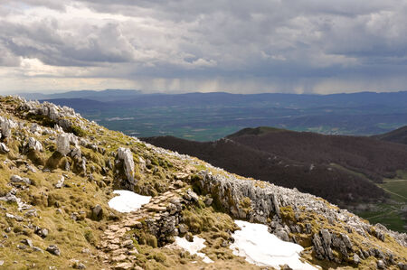 basque country: Aizkorri range, Basque Country, Spain