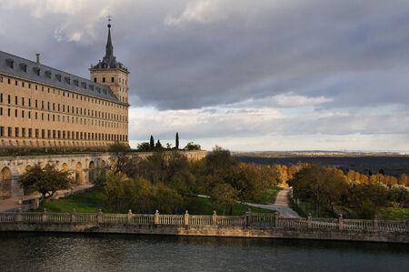 lawrence: Royal Monastery of San Lorenzo de El Escorial, Madrid, Spain