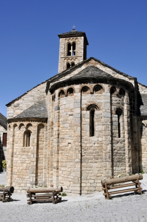 Romanesque church of Santa Maria de Taull, Catalonia, Spain photo