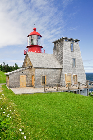 Pointe a la Renommee lighthouse, Quebec, Canada photo