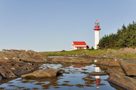 lawrence: Pointe de Mitis Lighthouse, Quebec, Canada