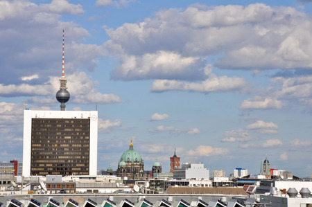 Panorama of Berlin from the Reichstag building photo