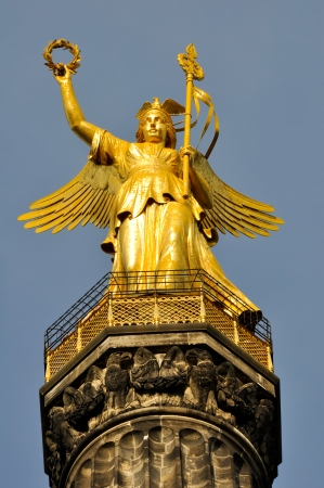 Victory Column in Berlin, Germany photo