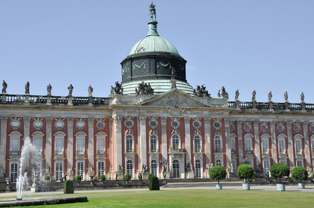 The New Palace of Sanssouci royal park, Potsdam, Germany