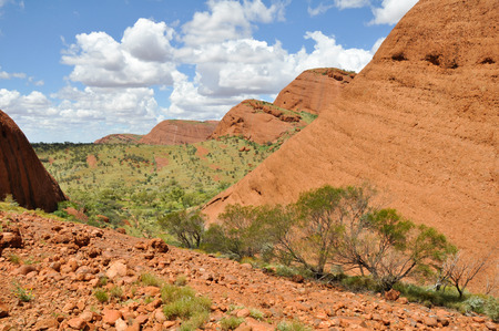 olgas: Valley of the Winds, The Olgas, Australia Stock Photo