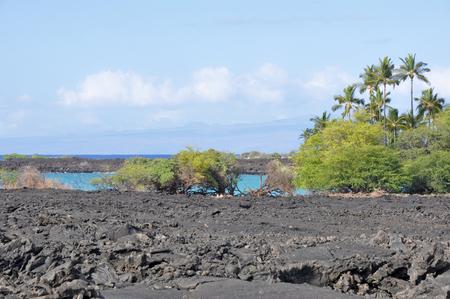 Kekaha Kai state park, Hawaii s Big Island photo