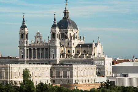 Almudena Cathedral, Madrid, Spain photo