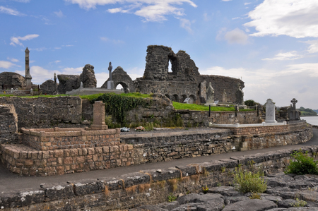 monastic site: The Annuals of the Four Masters  Donegal Abbey Ruins, Ireland