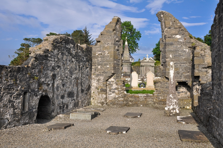 monastic sites: The Annuals of the Four Masters  Donegal Abbey Ruins, Ireland