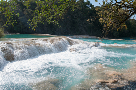 Agua Azul waterfalls, Chiapas, Mexico photo