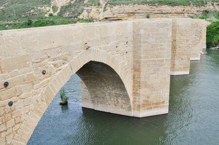 ebro: Ponte sul fiume Ebro, Haro, La Rioja, Spagna
