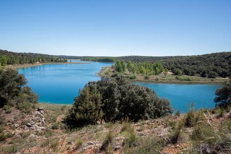 castilla la mancha: Conceja lagoon, Ruidera Natural Park, Castilla La Mancha, Spain
