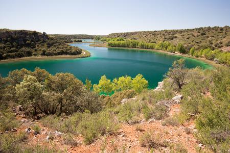 Conceja lagoon, Ruidera Natural Park, Castilla La Mancha, Spain