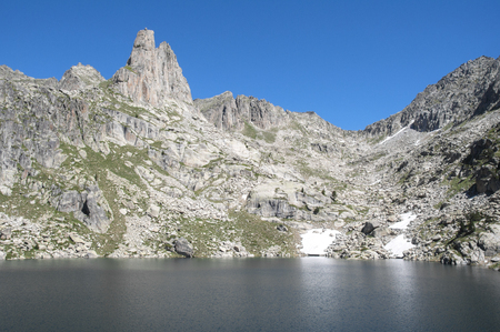 Estany Gran dAmitges, Aiguestortes and Sant Maurici NP, Pyrenees photo