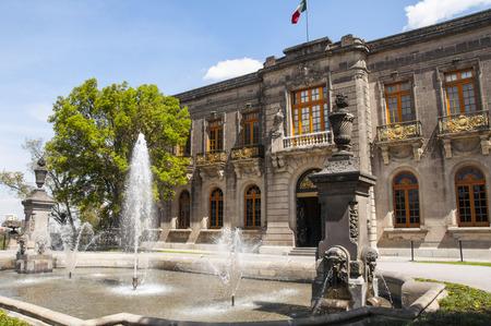 Chapultepec castle, Mexico city Imagens - 30093845