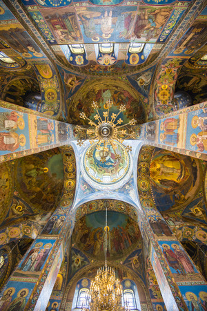 Church of the Savior on Spilled Blood in St  Petersburg