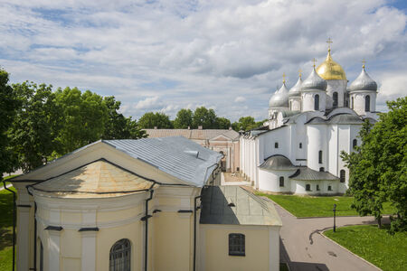 Novgorod Kremlin in Veliky Novgorod, Russia
