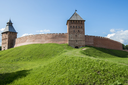 novgorod: Novgorod Kremlin in Veliky Novgorod, Russia