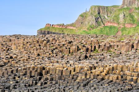 northern ireland: Giant s Causeway, Northern Ireland Stock Photo