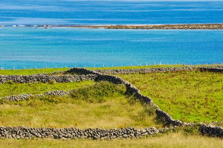 aran islands: Inishmore, Aran islands, Ireland Stock Photo
