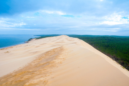 The Great Dune of Pyla, Arcachon, France Imagens - 30633545