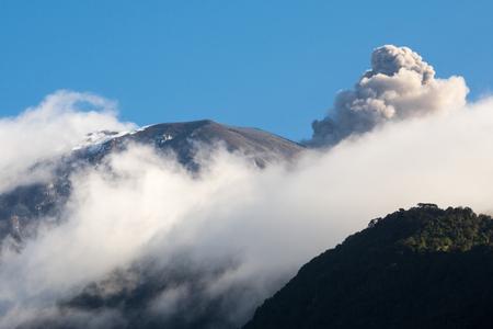 tungurahua: Tungurahua volcano, Ecuador Stock Photo