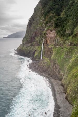 Veu da Noiva waterfall, Madeira, Portugal photo