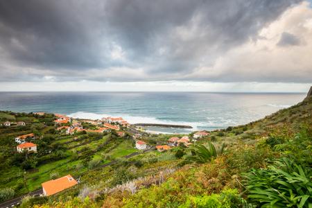 Town of Ponta Delgada, Madeira, Portugal photo