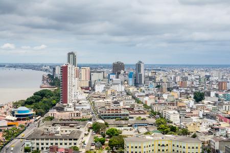 guayaquil: Panoramic view of Guayaquil, Ecuador