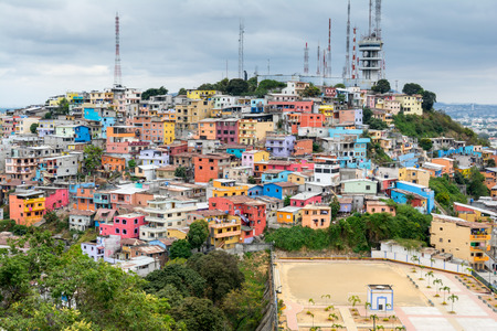 Las Penas neighborhood, Guayaquil, Ecuador Stock Photo