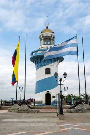 Lighthouse of Santa Ana hill, Guayaquil, Ecuador