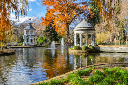 Chinescos pond, Princes garden, Aranjuez, Madrid