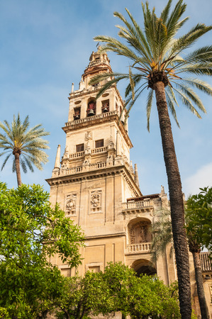 moresque: Mezquita-Cathedral of Cordoba, Spain Stock Photo