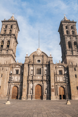 iglesia: Catedral de Puebla, M�xico
