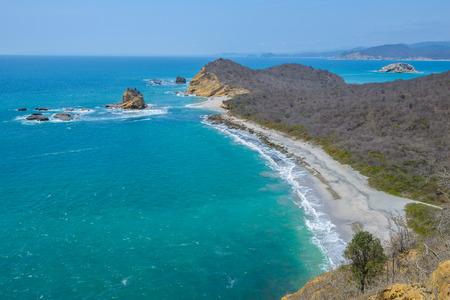 friar: Los Frailes beach, Machalilla national park, Ecuador