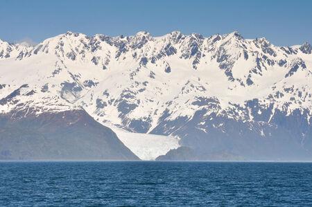 Aialik bay, glacier as background, Kenai Fjords, Alaska photo