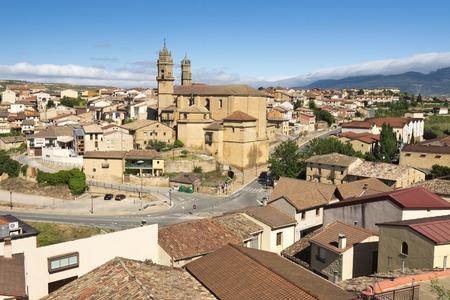 alava: Town of Elciego, Rioja Alavesa, Spain