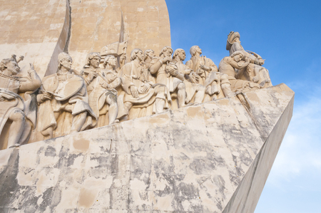 discoveries: Monument to the Discoveries, Lisbon, Portugal Editorial