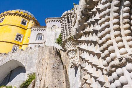 the pena national palace: Pena National Palace in Sintra, Portugal Editorial