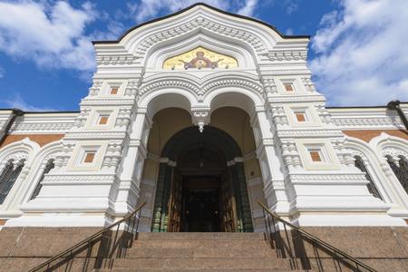 Gate of the Alexander Nevsky Cathedral, Tallinn, Estonia