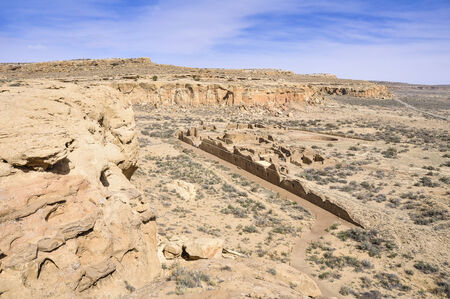 chaco: Chetro Ketl ruins, Chaco Canyon, New Mexico, USA